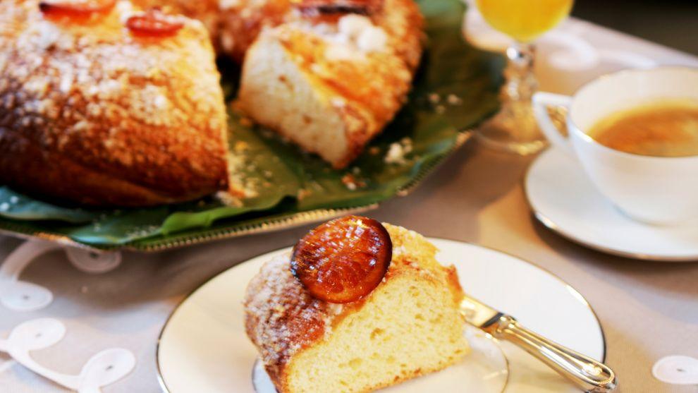 Roscón de Reyes de la Escuela de Cocina TELVA