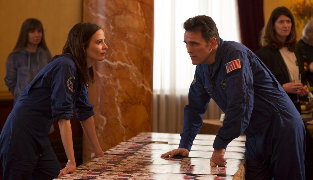 Eva Green y Matt Dillon en Proxima