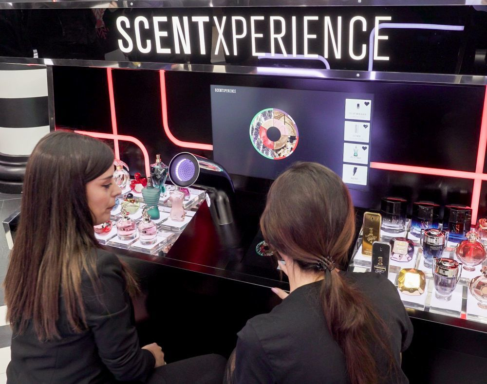 Viaje olfativo en Sephora ScentXperience en Barcelona.
