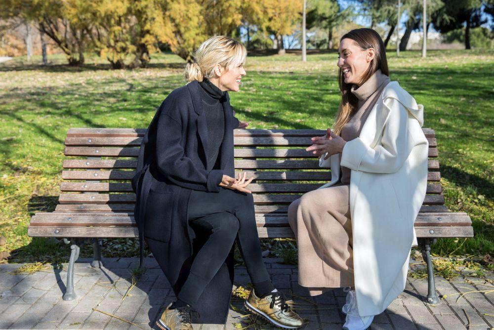 Maggie Civantos y Ana Belén Medialdea