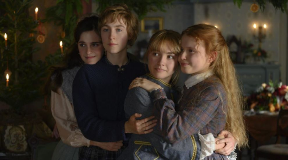 Emma Watson, Saoirse Ronan, Florence Pugh y Eliza Scanlen en...