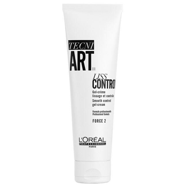 Gel- Crema Liss Control Tecni Art, de LOréal Professionnel. Suaviza, aporta brillo y ayuda a mantener la hidratación evitando el encrespamiento.
