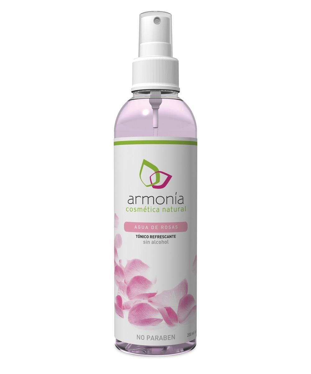 Agua de Rosas de Armonía Cosmética Natural (3,25 euros)....