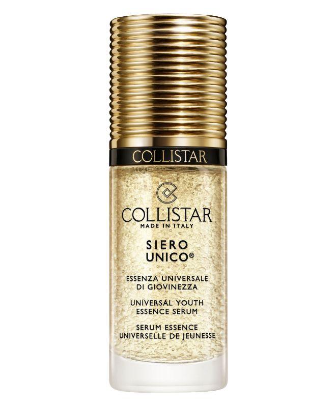 Siero Único de Collistar (desde 73,70 euros). Con extractos de ginseng, ácido hialurónico o vitamina E tiene un efecto iluminador, hidratante, antioxidante y regenerante sobre la piel.