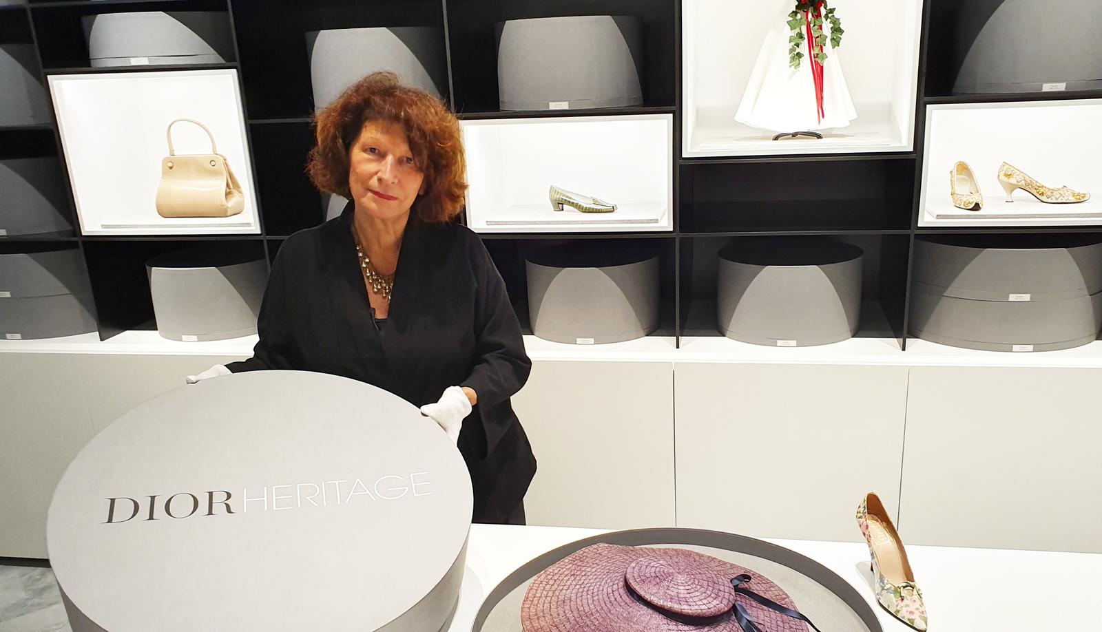 Soizic Pfaff, directora de Dior Héritage