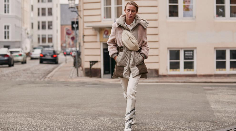 Así llevan las danesas el pantalón blanco