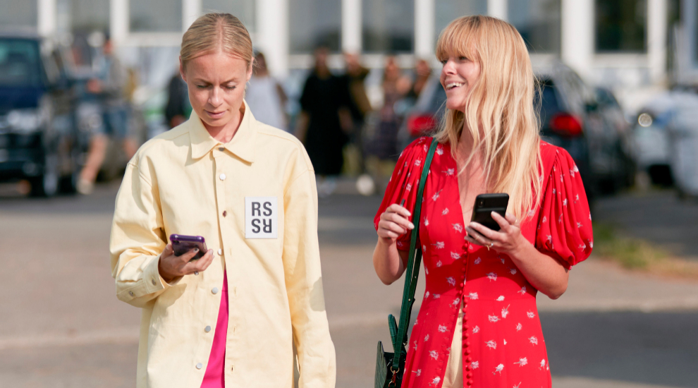Thora Valdimars y Jeanette Madsen son socias y mejores amigas.