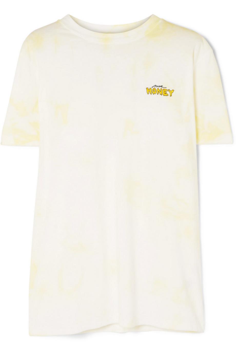 Camiseta de algodón tye dye de Ganni (63¤)