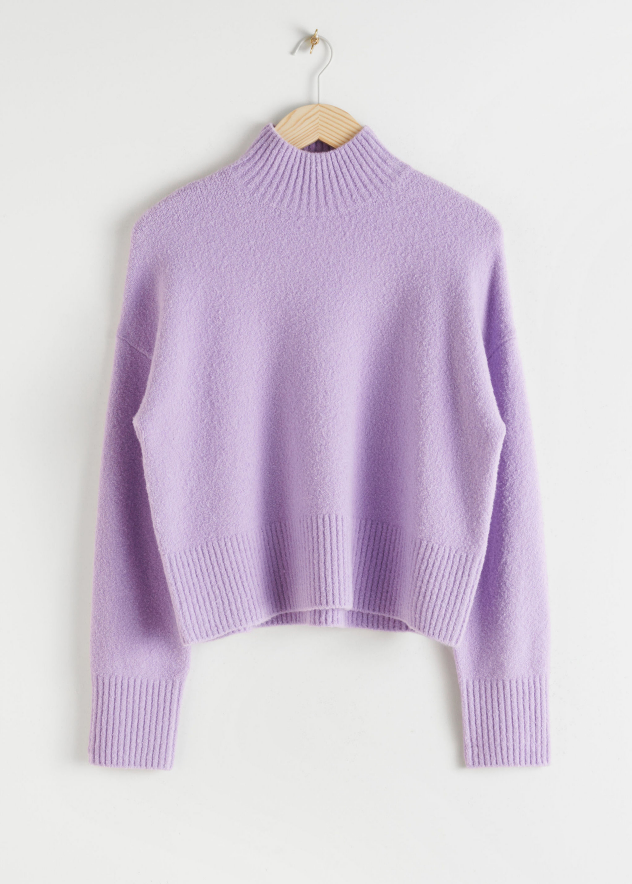 Jersey de mohair en color violeta de & Other Stories (39¤)
