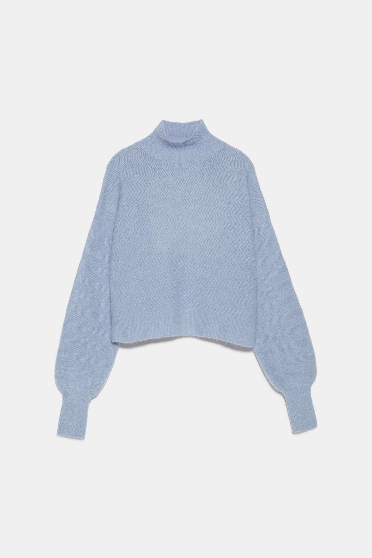 Jersey de mohair de edición limitada de Zara (49,95¤)