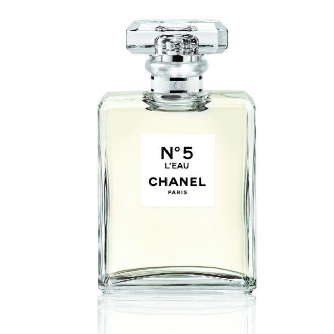 N°5 LEau, de Chanel (131 euros).