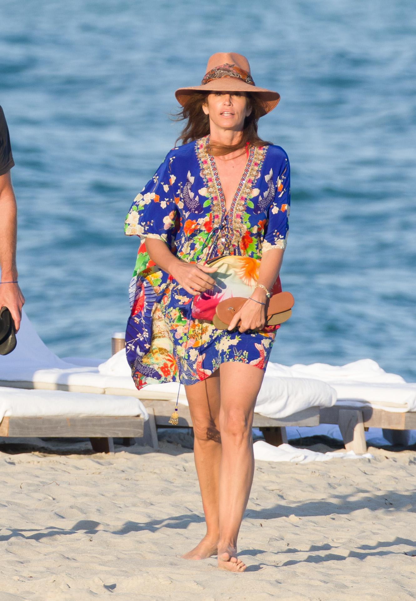 Cindy Crawford de vacaciones en Miami