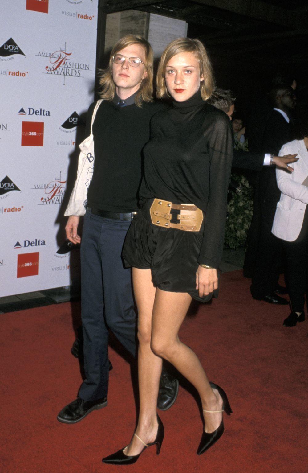 Chloe Sevigny y Matthew en la 19 edición de los premios de moda...