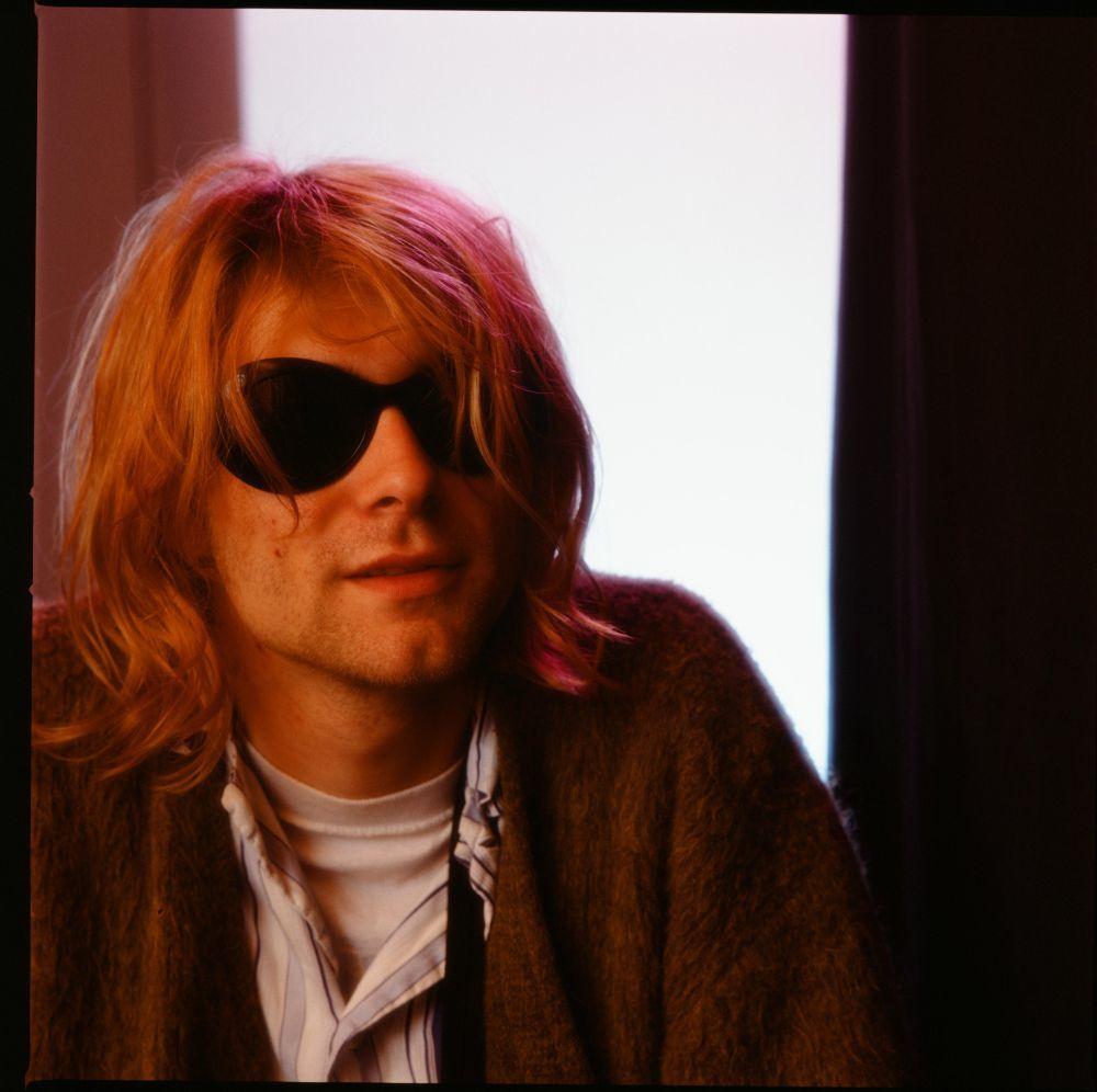 Kurt Cobain en Tokyo, en noviembre de 1991