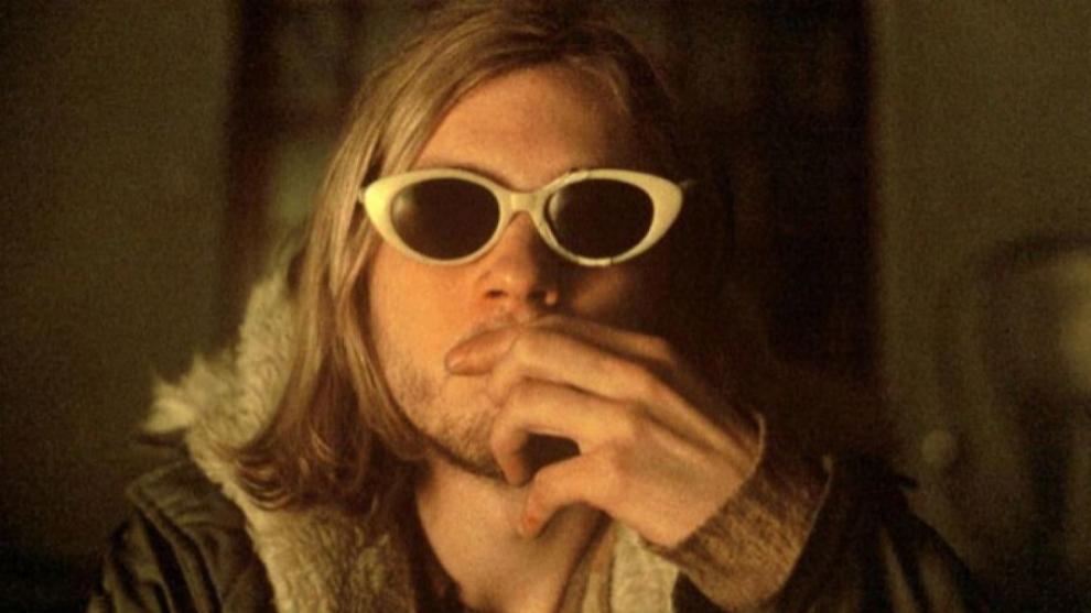 "Michael Pitt, como Kurt Cobain, en la película ""Last Days"" (2005)..."