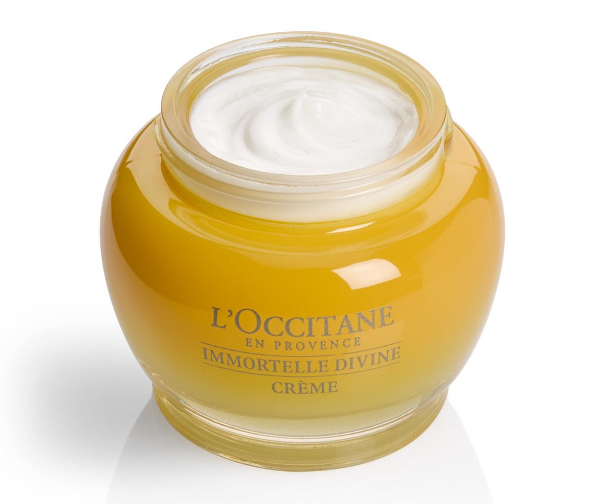 Crema Divina Siempreviva de LOccitane (86 euros), elaborada con aceite esencial de siempreviva biológica cultivada en Córcega.