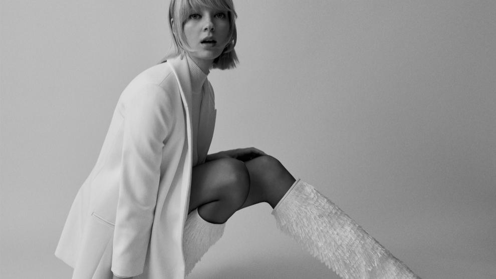 La combinación falda y medias es infalible en invierno, sobre todo...