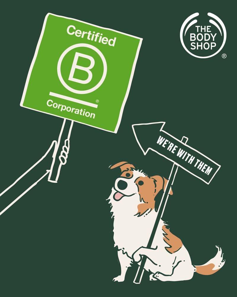 El compromiso de The Body Shop con el planeta le lleva a liderar diversas iniciativas como sus campañas contra la experimentación en animales, la reforestación de bosques en todo el mundo a través de corredores ecológicos o el comercio justo con comunidades vulnerables.