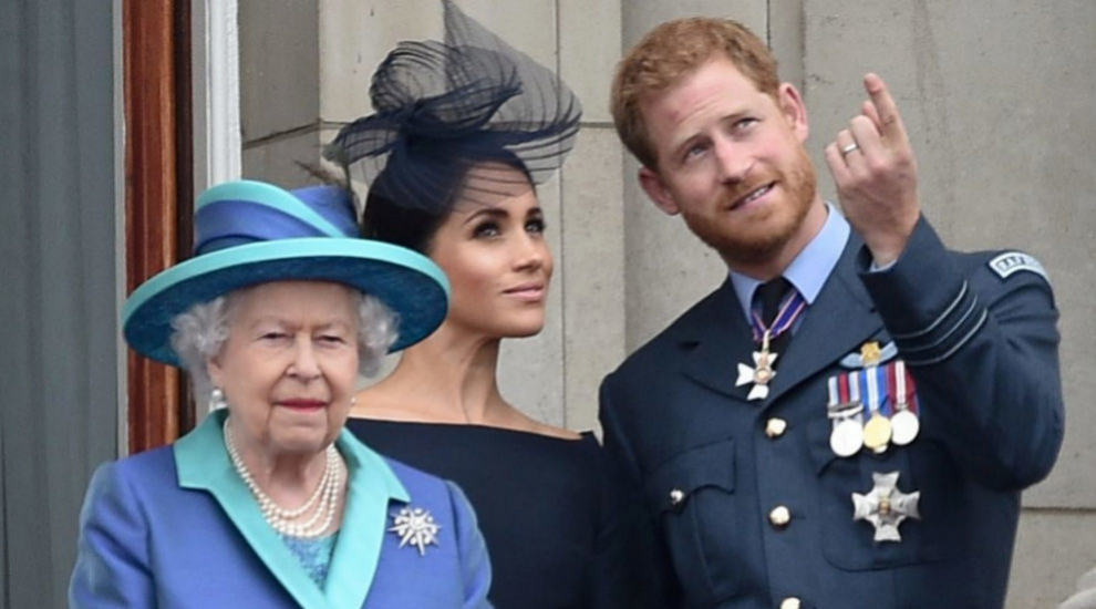 Isabel II responde a Meghan y a Harry.