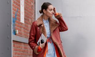 Los abrigos y las chaquetas de borrego están siempre presentes en el...