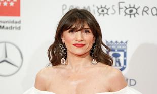 María Botto en los Premios Forqué 2020.