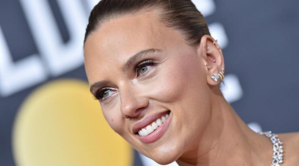Scarlett Johansson en la gala de los Globos de Oro 2019