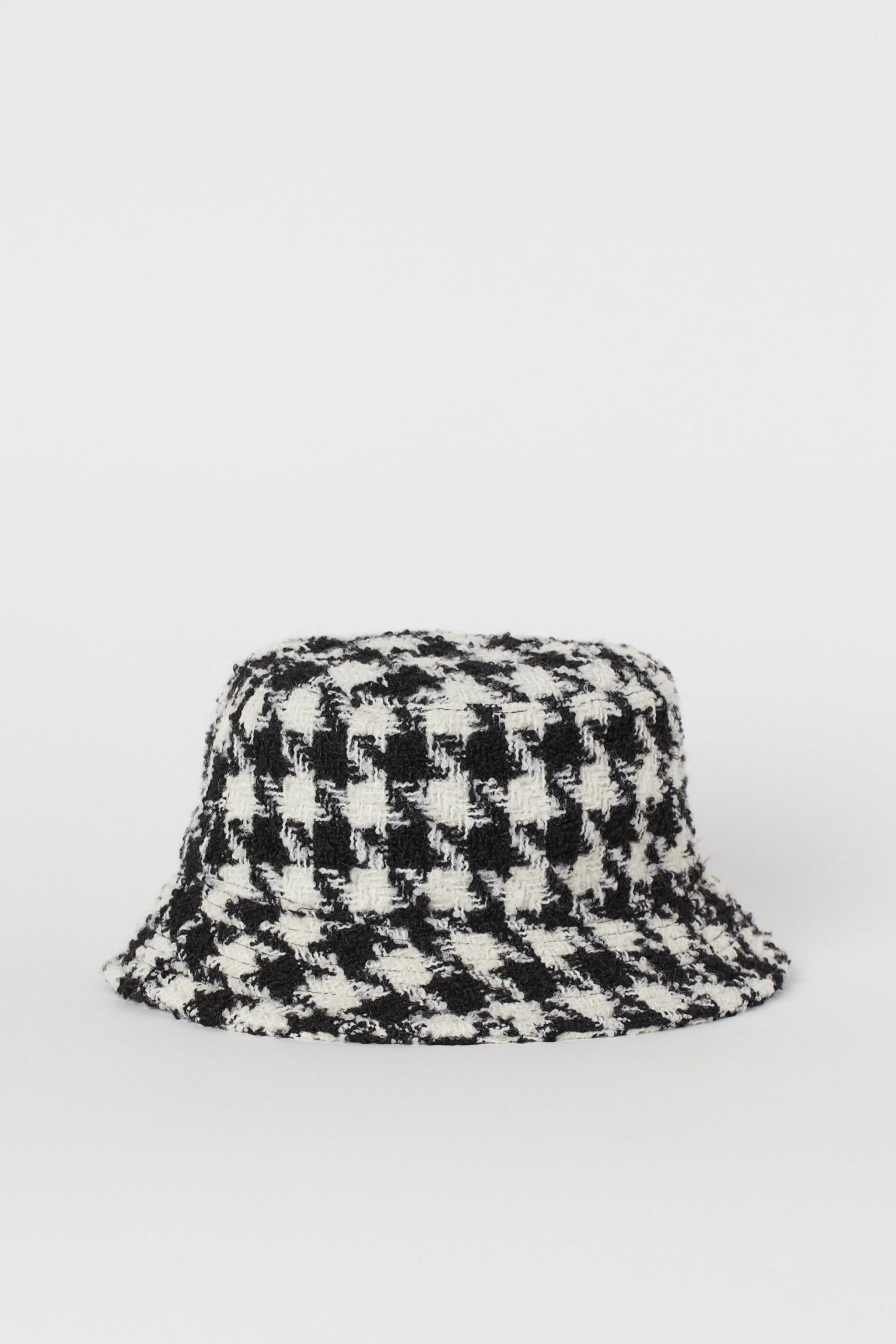 Sombrero con print pata de gallo de H&M (14,99¤)