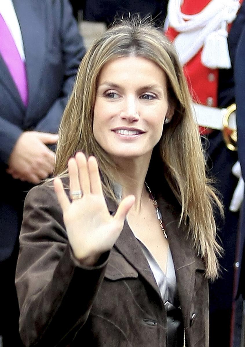 La reina Letizia luce una sonrisa perfecta, aunque nunca ha reconocido el uso de ortodoncia.