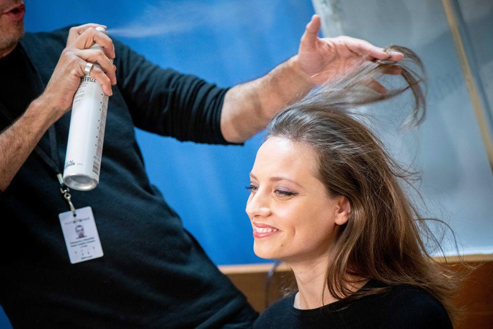Segundo paso: Preparar el pelo