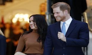 Harry y Meghan en su última aparición pública en Londres.