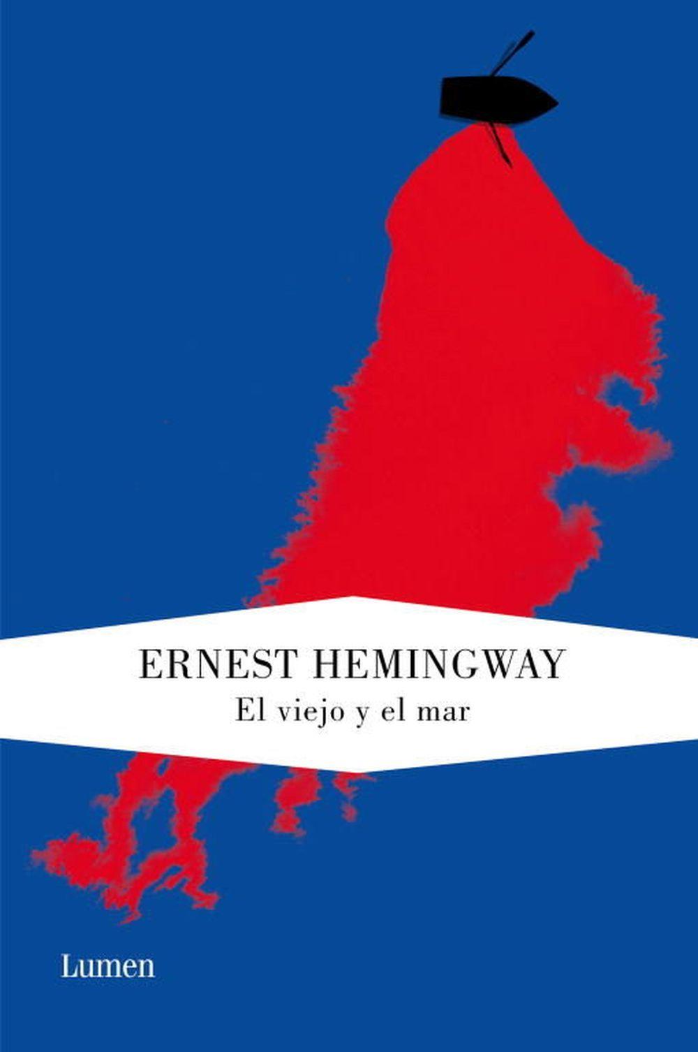 """Uno de sus libros favoritos, """"El viejo y el mar"""" (Ed. Lumen) de Ernest..."""