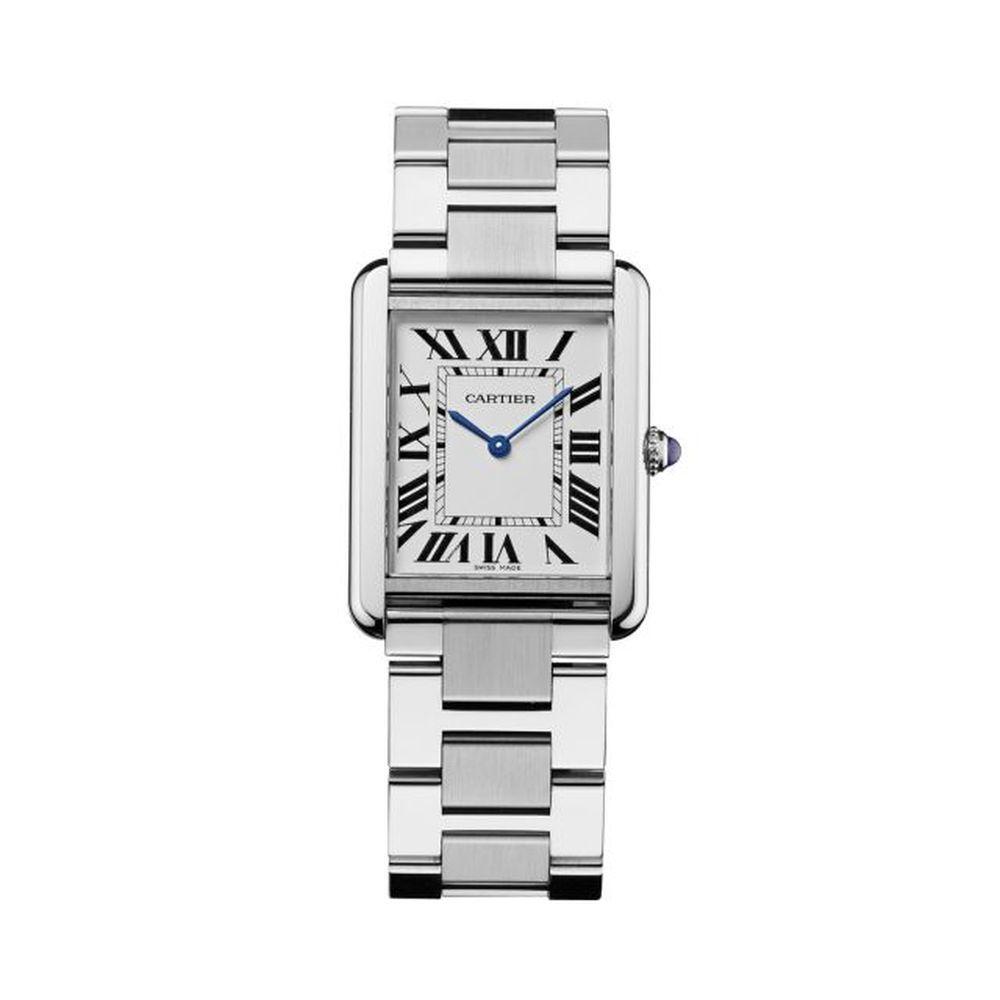 Reloj modelo Tank, de Cartier