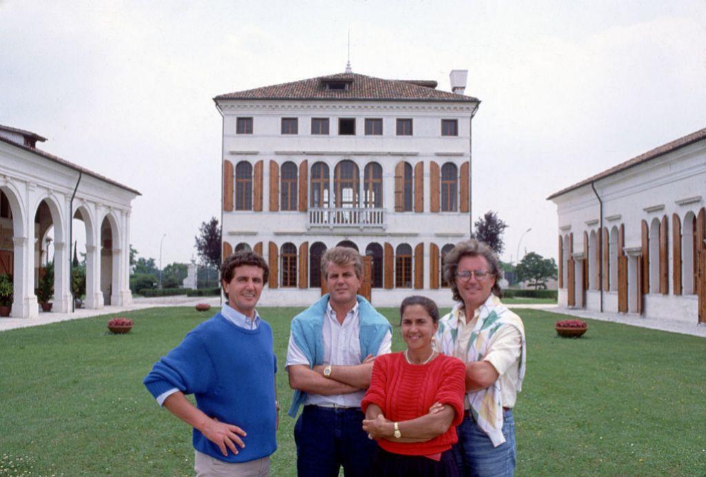 Carlo, Gilberto, Giuliana Benetton Luciano Benetton