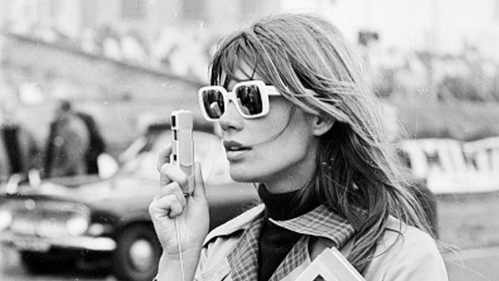 La modelo y cantautora Françoise Madeleine Hardy, eterno icono de...