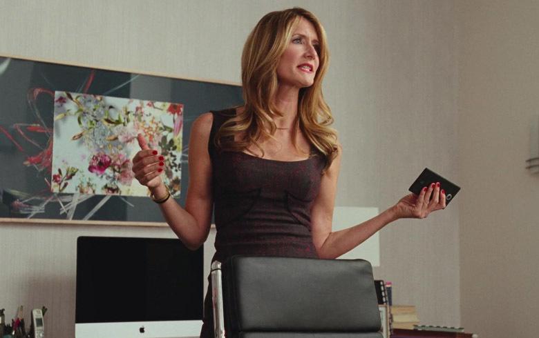La actriz Laura Dern en la película 'Historia de un matrimonio'.