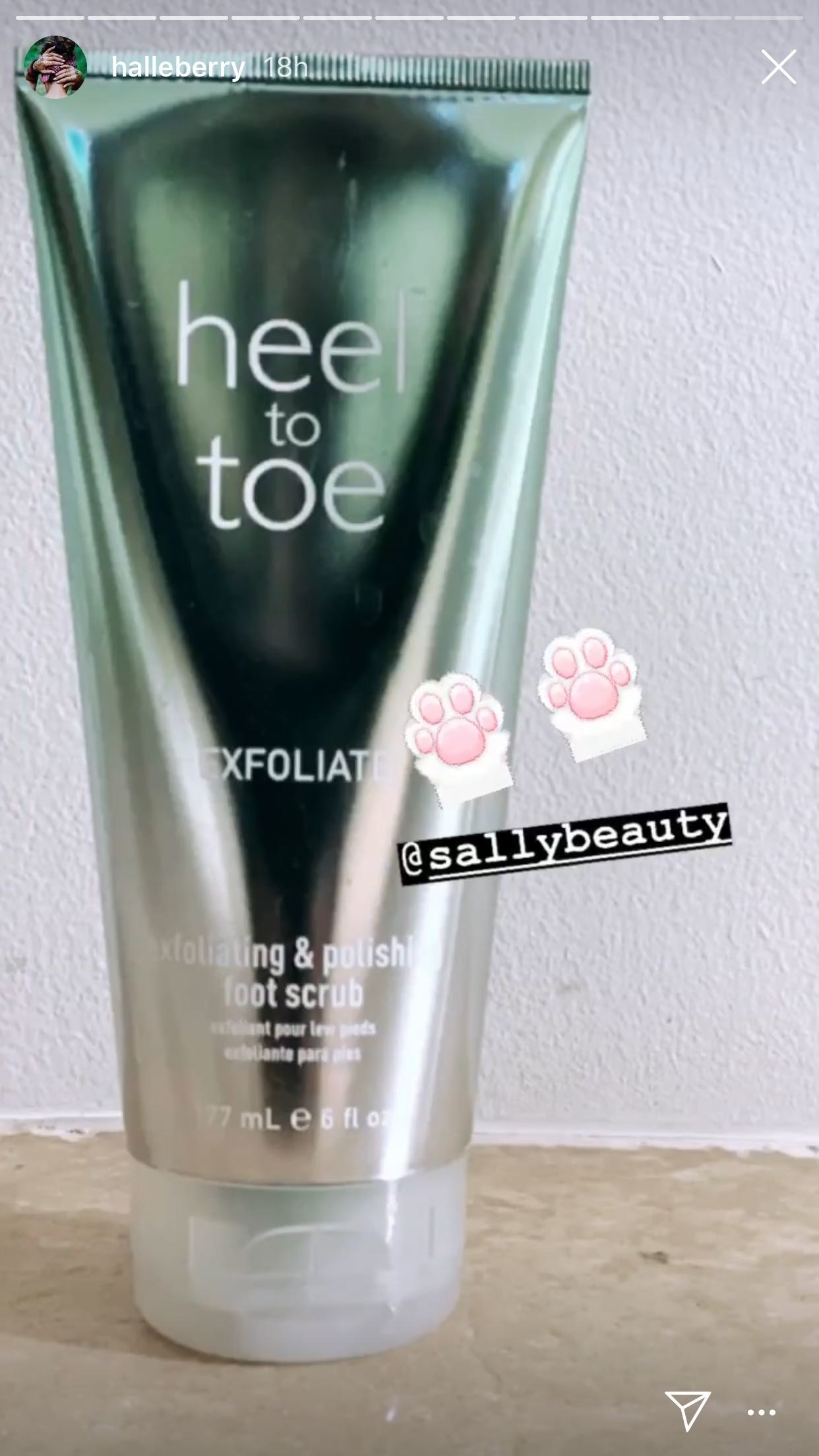 Heel to toe Exfoliate Body Scrub
