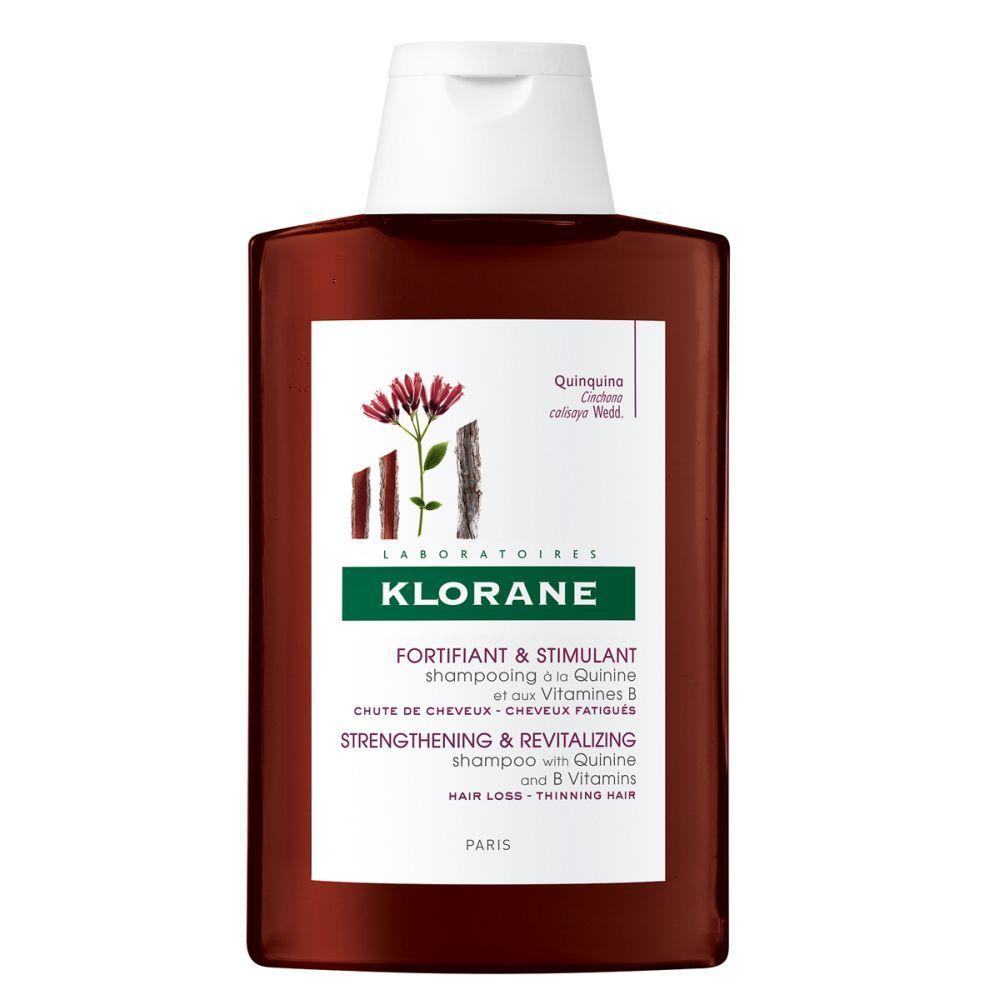 Champú a la quinina de Klorane.
