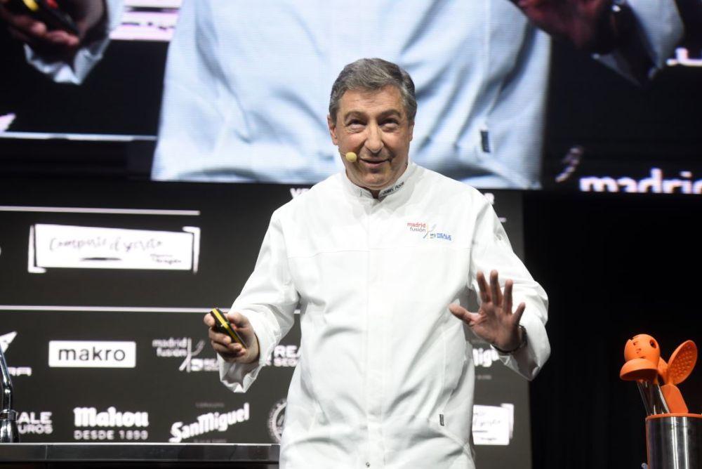 Joan Roca (El Celler de Can Roca) abogó por una cocina consciente y sostenible