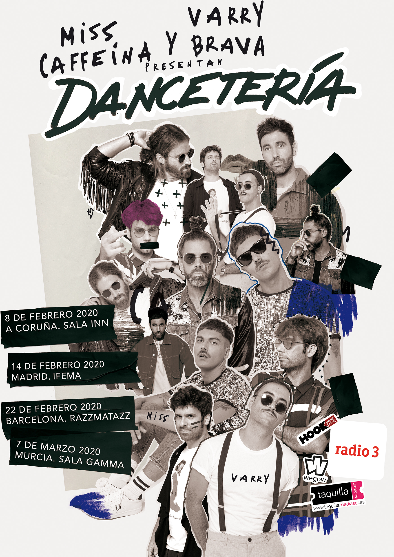 Cartel de la gira Dancetería