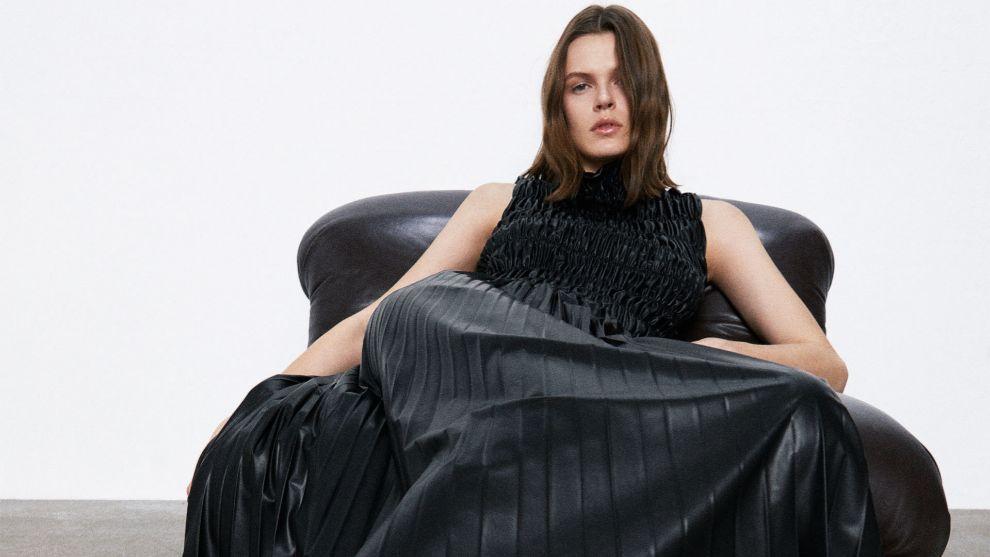 Cuero y malva: así vienen las últimas novedades de Zara