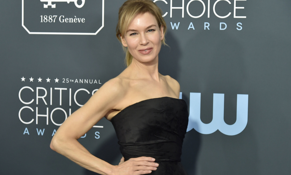 La actriz Renée Zellweger en los Critics Choice Awards