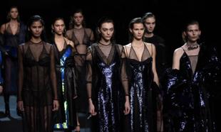 Desfile de Juan Vidal durante la Fashion Week de Madrid