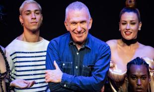 El diseñador Jean Paul Gaultier en la Fashion Freak Show el pasado...