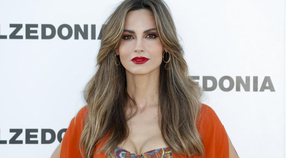 La modelo Ariadne Artiles en un evento celebrado en Ibiza.