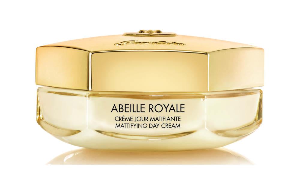 Crema de día matificante Abeille Royale de Guerlain, para pieles grasas y mixtas.
