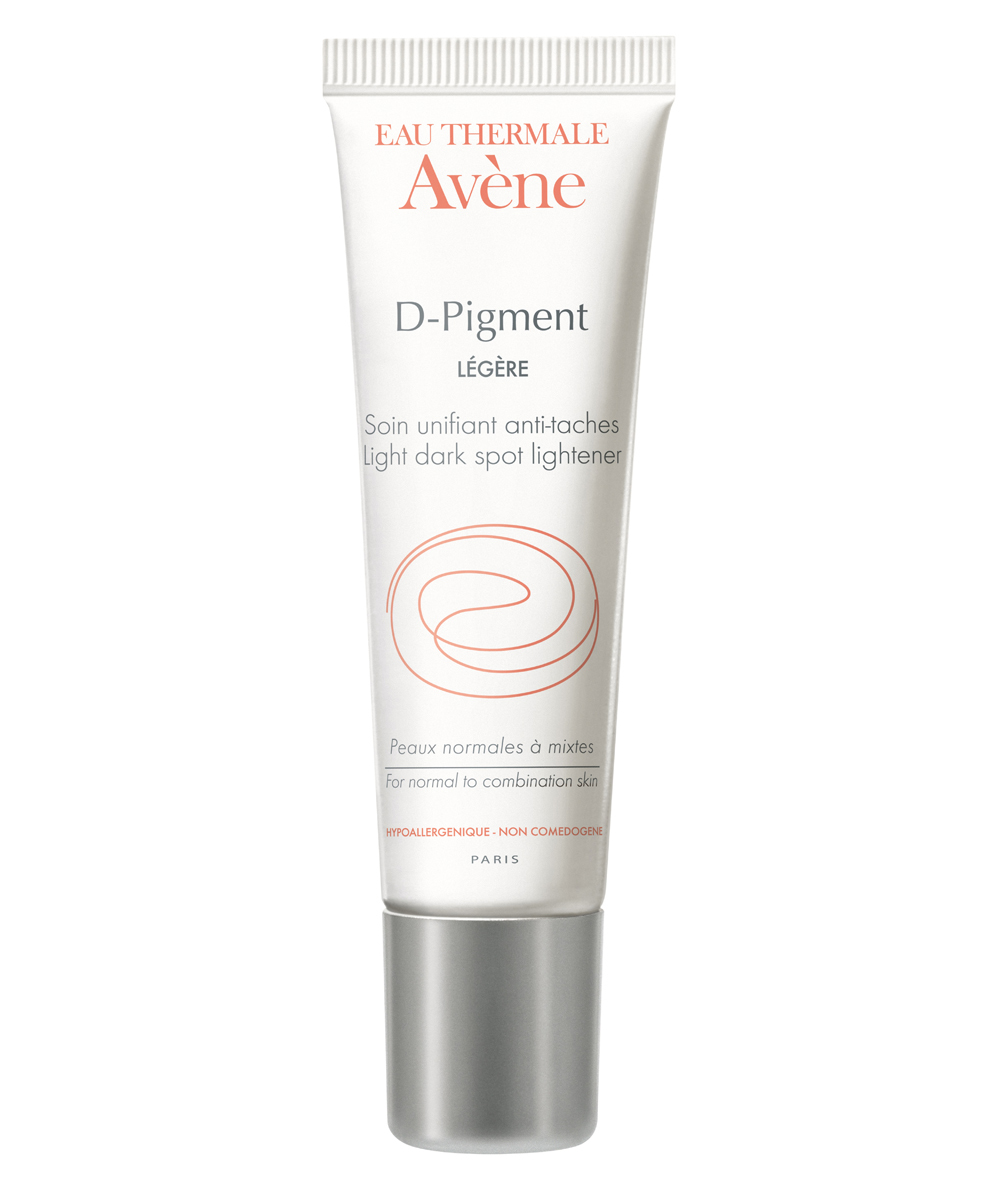 Crema despigmentante D-Pigment Ligera de Avène.