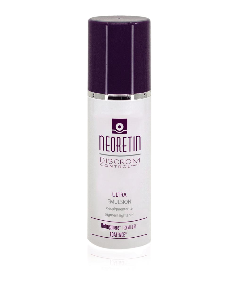 Crema despigmentante Neoretin Discrom Control Ultra Emulsion de Cantabria Labs.