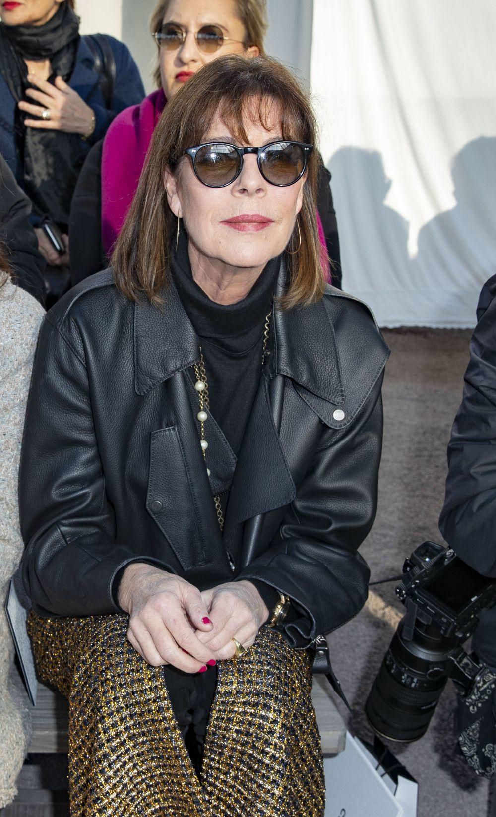 Carolina de Mónaco en el desfile de Alta Costura de Chanel.