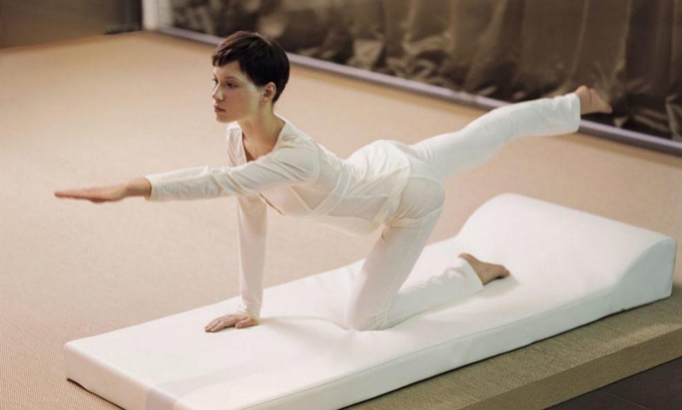 El Pilates en el embarazo ayuda a mantener una postura correcta.