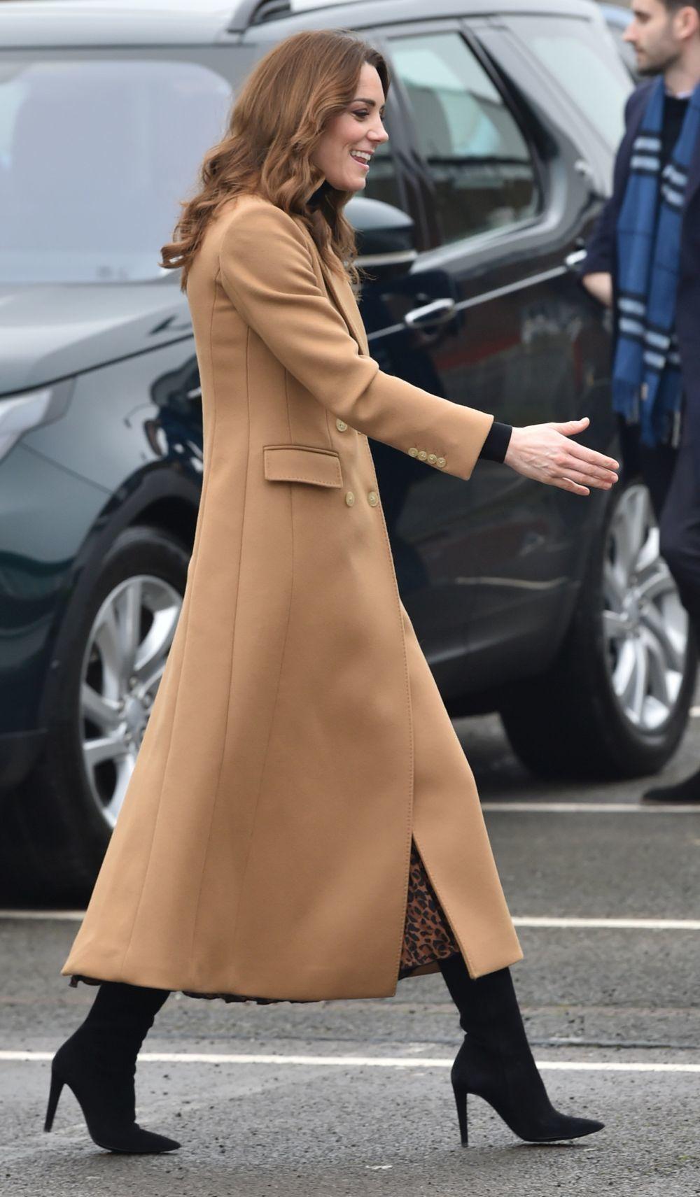 Kate Middleton se viste de Inditex.